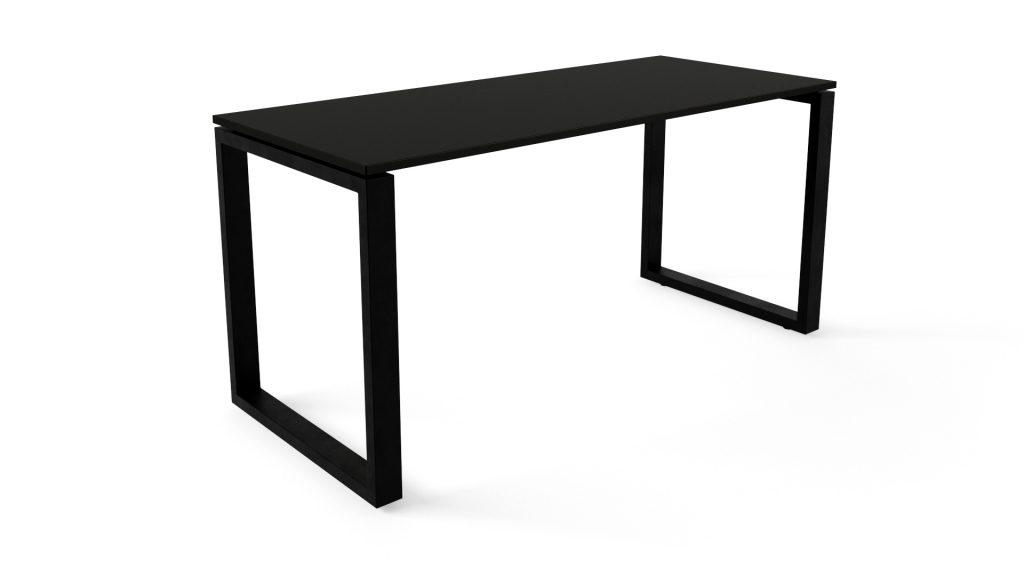 стіл компютерний чорний am01