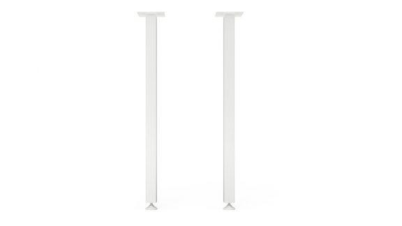 ніжки для стола білі am-l-02